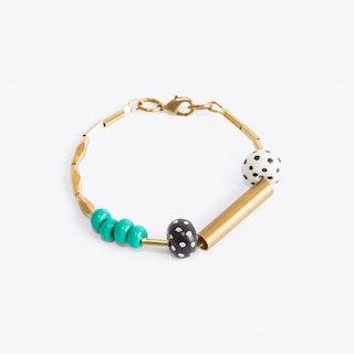 Dotty Green Bracelet
