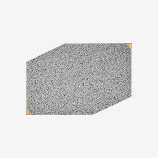 Placemat - Grey - Rubber & Brass