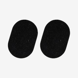 Capsule Trivets - Black - Set of 2