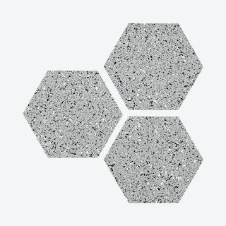 Hex Trivets - Grey - Set of 3