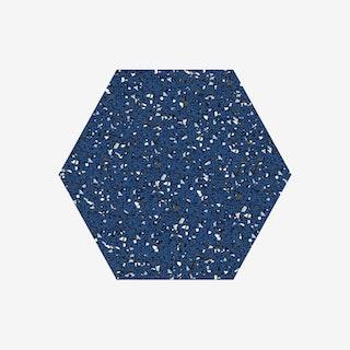 Hex Trivet - Navy Blue