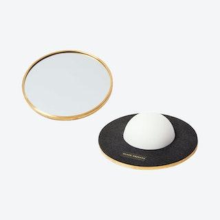 Bobble Mirror - Black / Gold