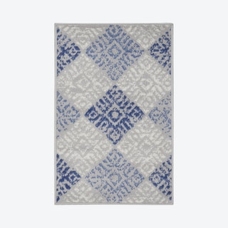 Whimsicle Area Rug - Grey / Blue