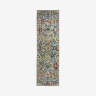 Global Vintage Runner Rug - Multicoloured