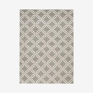Jubilant Area Rug - Grey / Ivory