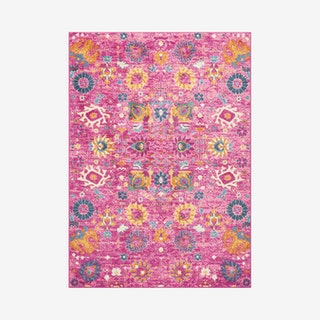 Passion Area Rug - Fuchsia