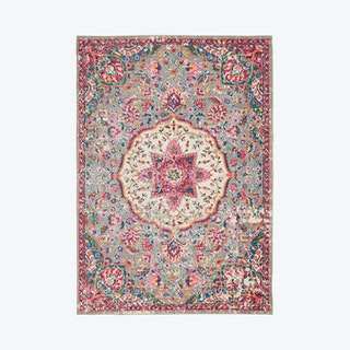 Passion Area Rug - Pink - Floral