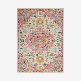 Passion Area Rug - Pink / Cream