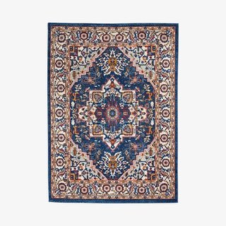 Passion Area Rug - Navy / Multicoloured
