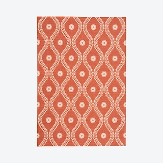Home & Garden Area Rug - Terracotta