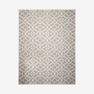 Waverly Sun N' Shade Area Rug - Ivory / Grey