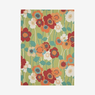 Waverly Sun N' Shade Area Rug - Green - Floral