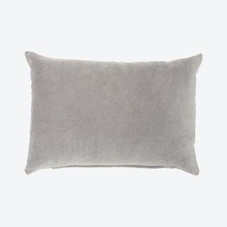 """Mina Victory Lifestyles"" Throw Pillow - Grey - Solid Velvet"
