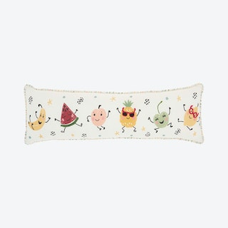 """""""Mina Victory Plush"""" Fruit Party Throw Pillow - Multicolor"""