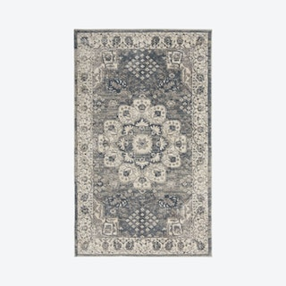 Concerto Area Rug - Grey / Cream