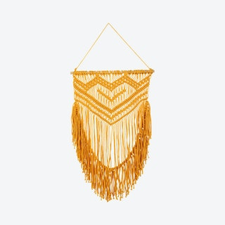 Oro Macrame Wall Hanging - Yellow