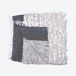 Belinda Throw - Charcoal