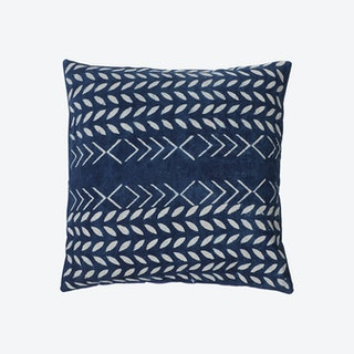 Amer Block Printed Cushion Cover