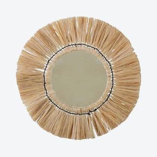 Fringe Wall Mirror - Grass