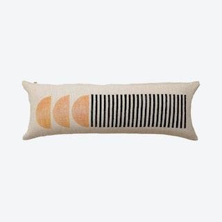 Celestial Lumbar Pillow - Black / Gold