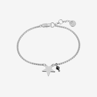 Star Mini Bracelet In Silver