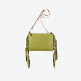 Angel Fringe in Olive