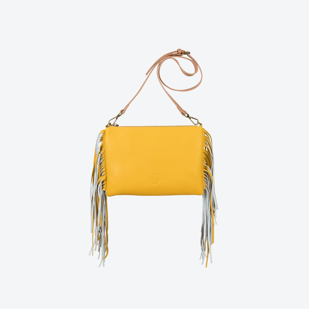 Angel Fringe in Mustard