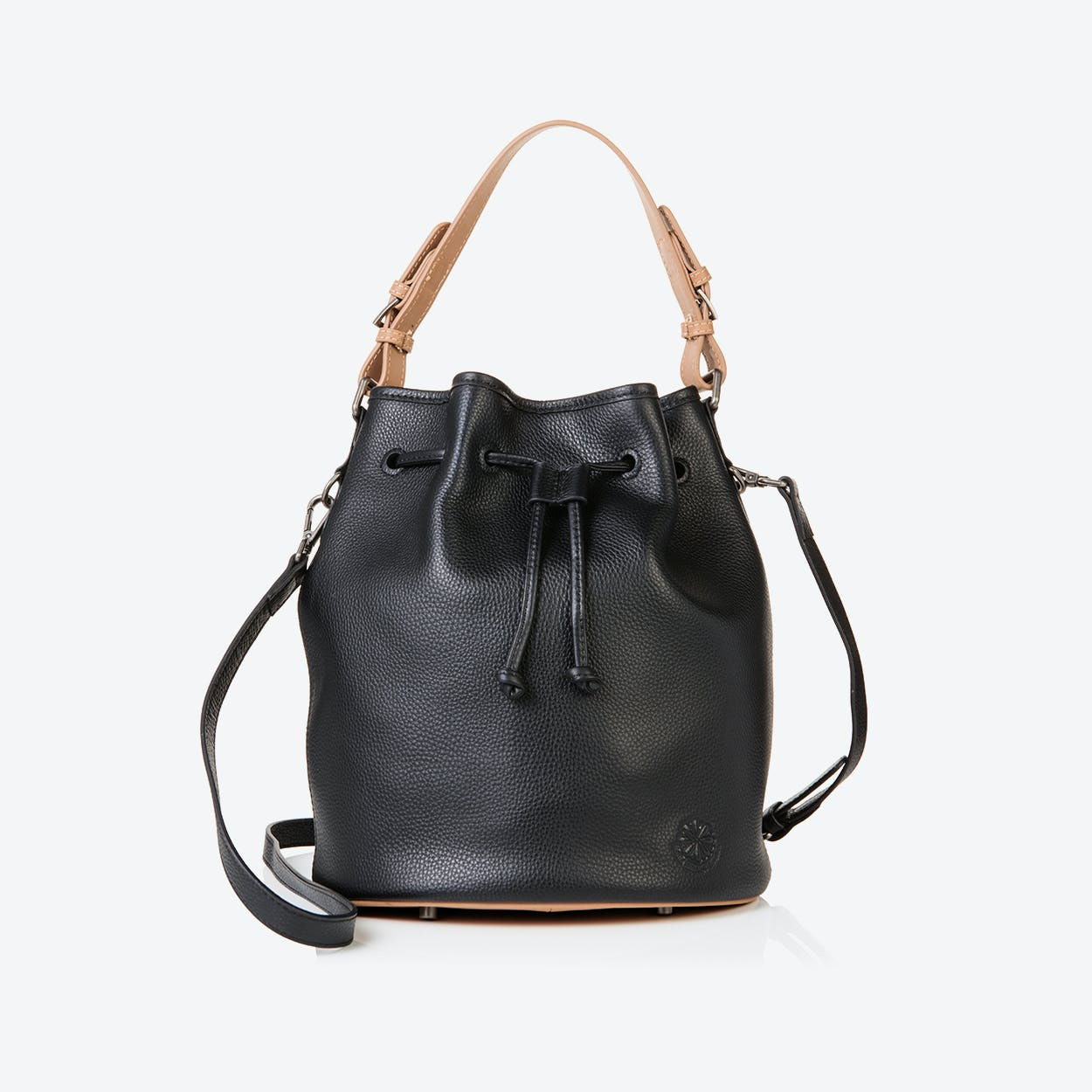 Islington Bucket Bag in Black