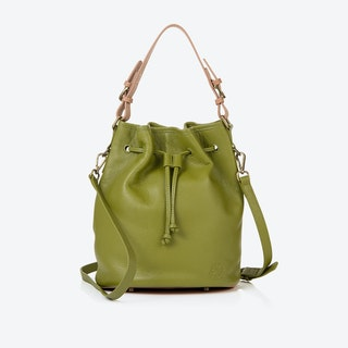Islington Bucket Bag in Olive