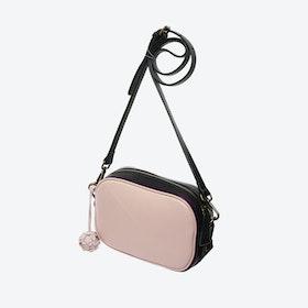 Borough Camera Bag in Blush with Black