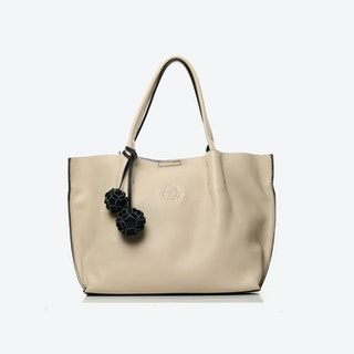The Richmond Midi Tote in Beige