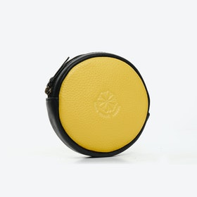 Macaron Purse in Yellow