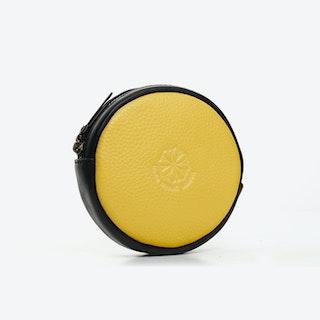 Macaron Purse in Yellow
