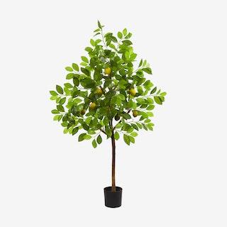 Lemon Artificial Tree - Lime