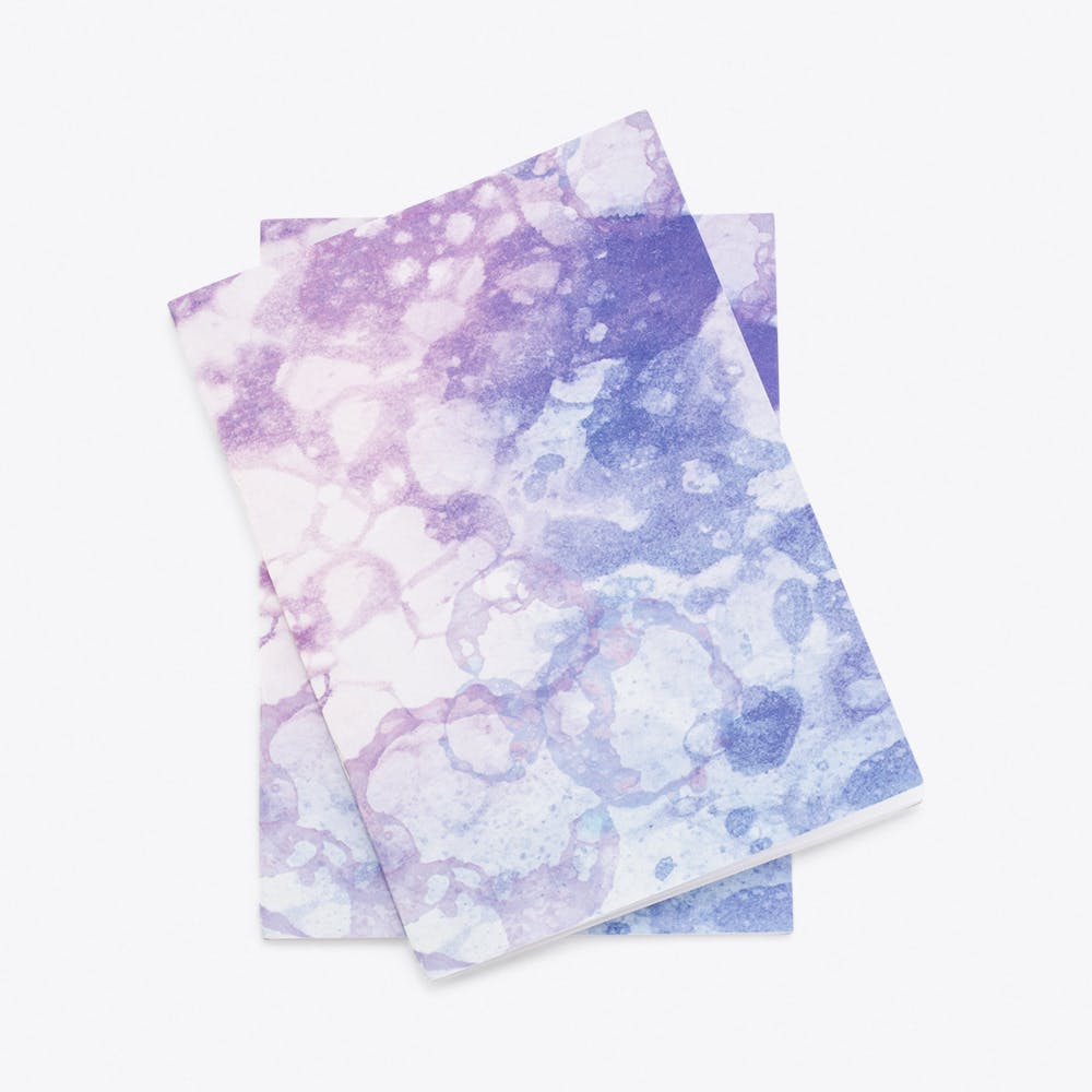 Lavender Bubbles Notebook Set