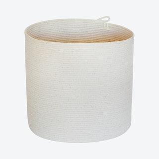 Cylinder Basket - Ivory