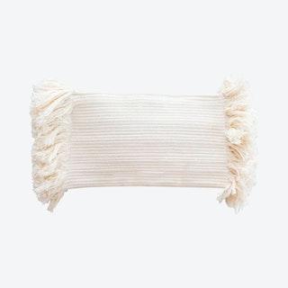 Mane Clutch Bag - Ivory