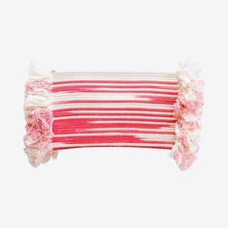 Mane Clutch Bag - Coral - Ikat
