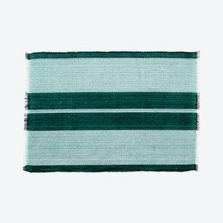 Inabel Placemat - Forrest Green