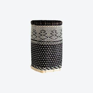 Mini Bidayuh Storage Basket - Charcoal