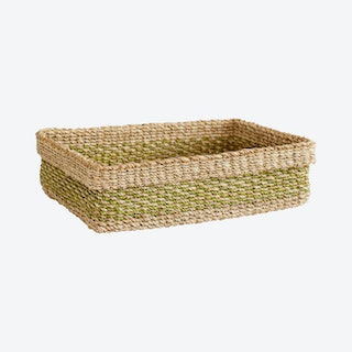 Maxi All Purpose Storage Tray - Lime Green / Natural