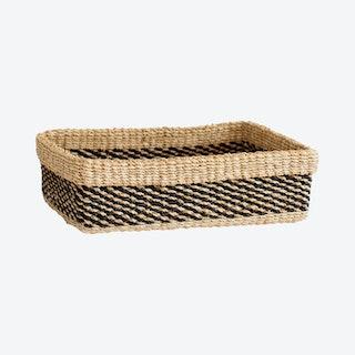 Maxi All Purpose Storage Tray - Stripe Noir