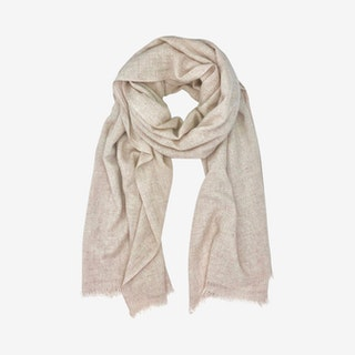 Handloom Scarf - Blush - Cashmere