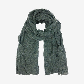 Lela Scarf - Olive Green - Alpaca