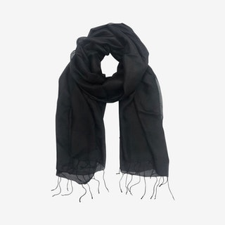 Khmer Scarf - Black - Silk