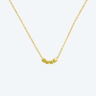 """Necklace """"Hanna"""" 925 Sterling Silver gold plated"""