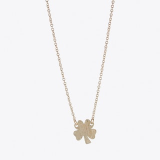 Lucky Clover Necklace Rose Gold