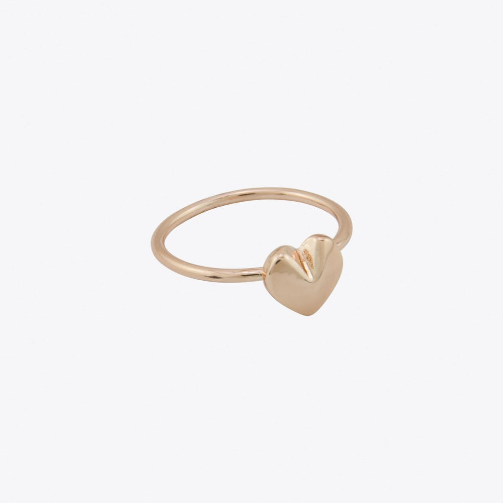 Heart Ring in Rose Gold Fill