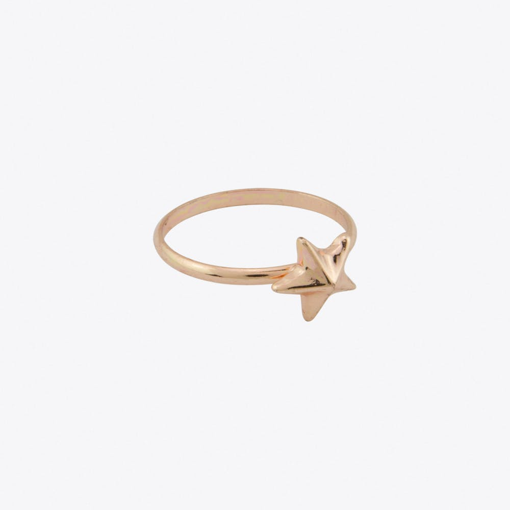 Star Ring in Rose Gold Fill