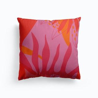 Summer Canvas Cushion